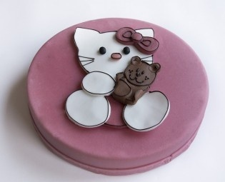 Kindertorte Hello Kitty