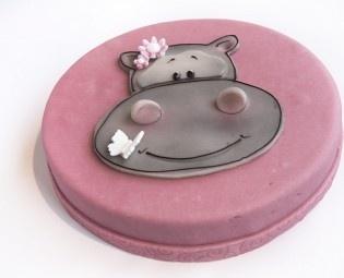 Kindertorte Hippo