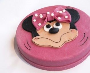 Kindertorte Minnie Mouse
