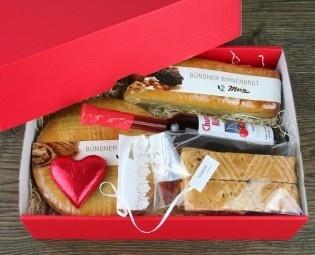 Geschenkbox für Postversand