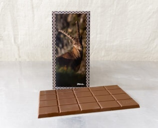 Steinbock_Dunkleschokolade_Tafel_40