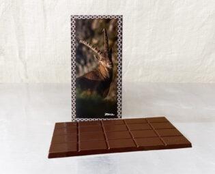 Steinbock_Dunkleschokolade_Tafel_52